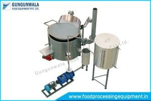 Circular Fryer Indirect Heating Manufacturers in India