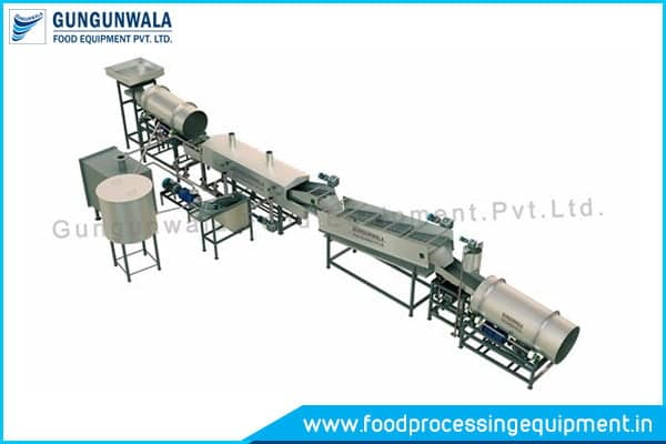 Fully Automatic Snack Pellet Frying Line Manufacturers and Suppliers in India