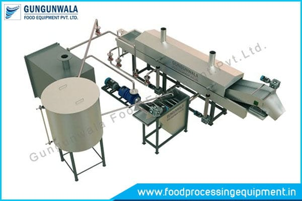 Namkeen Making Machine / Namkeen Fryer Machine Manufacturers In India