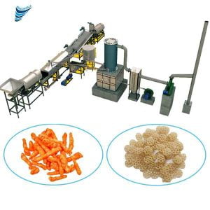 We are one of the leading Manufacturer and Supplier of Fully Automatic Kurkure Production in Ahmedabad, Gujarat, India