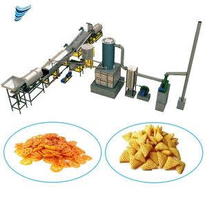 We are Manufacturer, Supplier and Exporter of Fully Automatic Pellet Frying Production in Gujarat, India