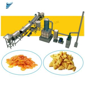 Gungunwala is trademark in the industry for manufacturing and supplying the best quality of Fully Automatic Snacks Pellet Frying Line