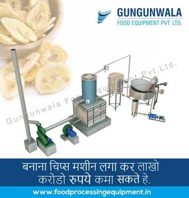 Banana Chips Making Machine Manufacturer, Supplier and Exporter in Ahmedabad, Gujarat, India
